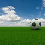 Sfera di calcio Fotografia Stock