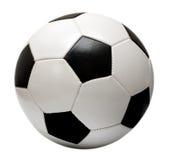 Sfera di calcio di gioco del calcio Fotografie Stock