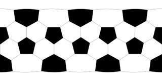 Sfera di calcio di struttura. Immagini Stock