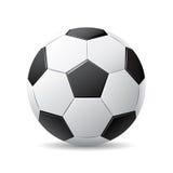 Sfera di calcio di vettore Fotografie Stock