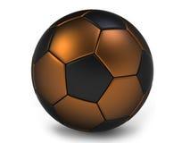 Sfera di calcio o di gioco del calcio Fotografie Stock Libere da Diritti
