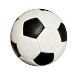 Sfera di calcio usata Fotografie Stock
