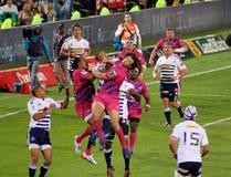 Sfera di cattura Sudafrica 2012 di rugby Fotografie Stock