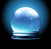 Sfera di cristallo illustrazione vettoriale