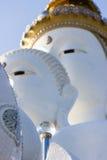 Sfera di cristallo, Buddha sulla montagna, Phasornkaew, Phetchabun Provin Fotografie Stock Libere da Diritti
