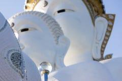 Sfera di cristallo, Buddha sulla montagna, Phasornkaew, Phetchabun Provin Fotografia Stock Libera da Diritti