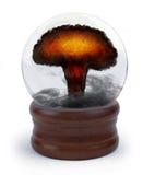 Sfera di cristallo nucleare Fotografia Stock Libera da Diritti