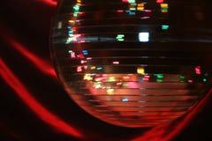 Sfera di filatura della discoteca Fotografia Stock