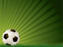 Sfera di gioco del calcio Fotografia Stock