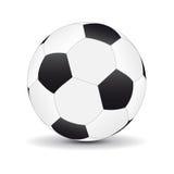 Sfera di gioco del calcio Fotografia Stock Libera da Diritti