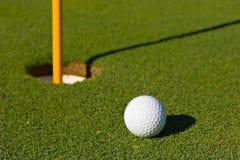 Sfera di golf Fotografia Stock