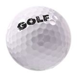 Sfera di golf Immagine Stock