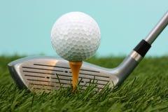 Sfera di golf Fotografie Stock Libere da Diritti