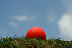 Sfera di golf Immagini Stock Libere da Diritti