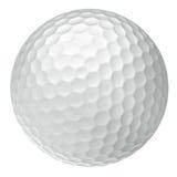 Sfera di golf classica Fotografie Stock