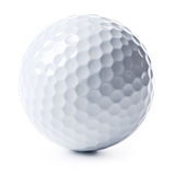 Sfera di golf isolata Immagini Stock Libere da Diritti