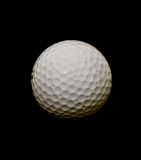 Sfera di golf nello spazio fotografie stock