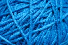 Sfera di lana del filato Fotografie Stock Libere da Diritti