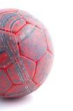 sfera di mano rossa usata Fotografia Stock