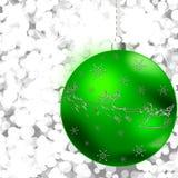 Sfera di Natale Fotografia Stock
