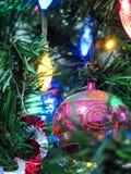 Sfera di Natale Fotografia Stock Libera da Diritti