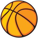 Sfera di pallacanestro Fotografie Stock Libere da Diritti