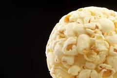 Sfera di popcorn Fotografia Stock