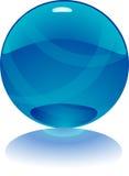 sfera di porpora di vettore 3d Fotografie Stock Libere da Diritti