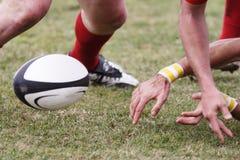 Sfera di rugby. Fotografie Stock