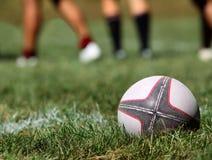 Sfera di rugby fotografie stock libere da diritti