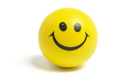 Sfera di smiley Fotografia Stock