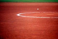 Sfera di softball o di baseball Immagine Stock Libera da Diritti