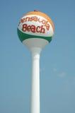 Sfera di spiaggia di Pensacola fotografia stock