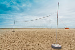 Sfera di spiaggia netta. Fotografia Stock Libera da Diritti