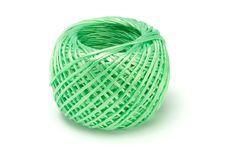 Sfera di stringa di nylon Immagini Stock