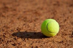 Sfera di tennis. fotografie stock