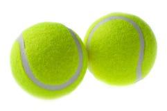 Sfera di tennis due Fotografia Stock