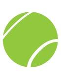 Sfera di tennis verde Immagine Stock