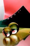 Sfera di vetro Fotografie Stock