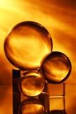 Sfera di vetro Immagine Stock