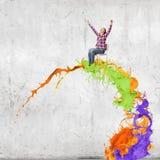 Sfera differente 3d Immagine Stock Libera da Diritti