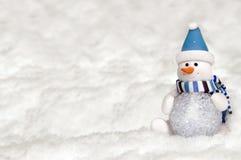Sfera fatta da Snowman Fotografie Stock