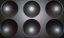 Sfera kształt na metal teksturze 3d sfery szablon ilustracja wektor