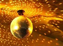 Sfera lucida della discoteca Fotografia Stock