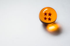 Sfera quattro stelle di Dragon Ball Z Immagine Stock