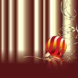 Sfera rossa di natale royalty illustrazione gratis