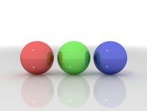 sfere 3d Fotografia Stock