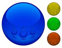 sfere 3d Fotografie Stock Libere da Diritti