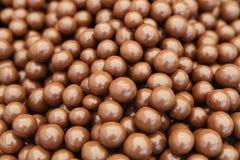 Sfere del cioccolato fotografia stock