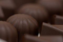 Sfere del cioccolato Fotografia Stock Libera da Diritti